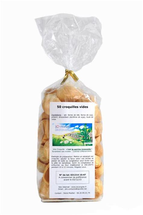 cuisiner escargots sachet de croquilles l 39 escargote fournisseur de