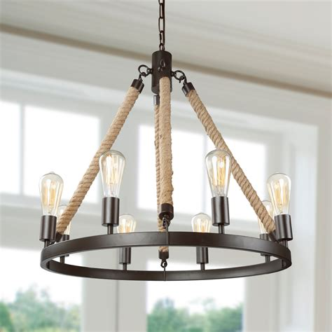 lnc rustic farmhouse chandeliers  dining rooms hanging