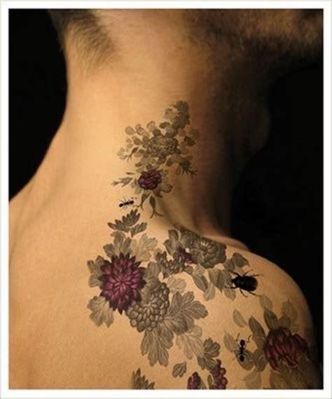 tatuaggi  fiori giapponesi bellissimi foto