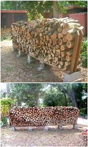 14, Best, Diy, Firewood, Rack, Ideas, To, Keep, Your, Firewood, Safe, U22c6, Diy, Crafts