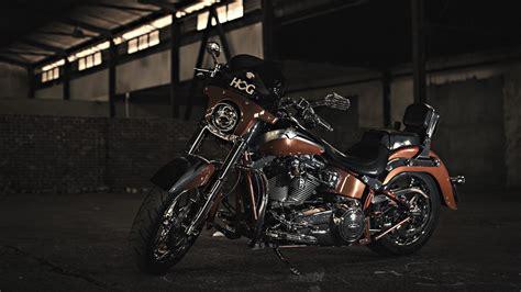 Harley Davidson Motorcycle 4k Ultra Hd Wallpaper
