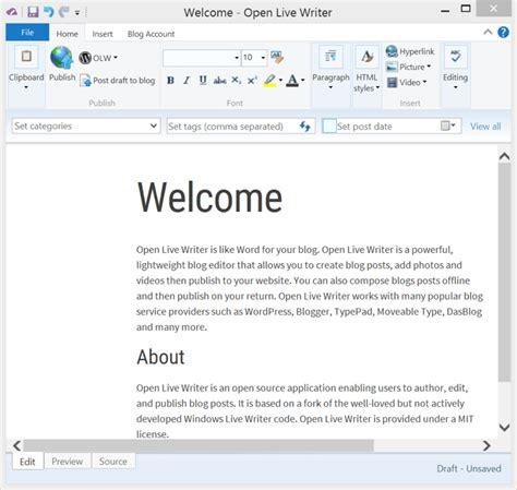 Offenes Wohnen Beispiele by 5 User Friendly Windows Live Writer Alternative