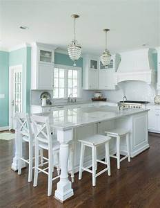best 25 aqua kitchen ideas on pinterest teal kitchen With kitchen colors with white cabinets with martha stewart candle holders