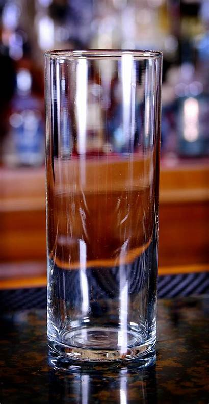 Collins Glass Clear Oz Glassware Cocktail Tall