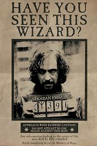 Harry Potter Sirius Black Wanted Poster - Buy Online at ...