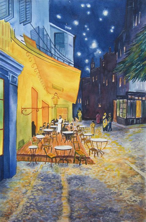 gogh cafe terrace at robertomariani s just another site