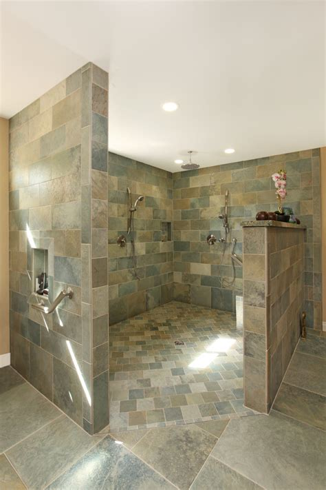 amazing walk  shower design ideas