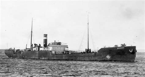 Court Lights Boat by Maplecourt Canadian Steam Merchant Ships Hit By German