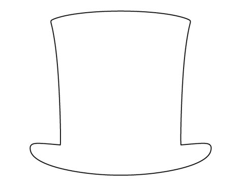 abraham lincoln with hat drawing abraham lincoln hat pattern use the printable outline for