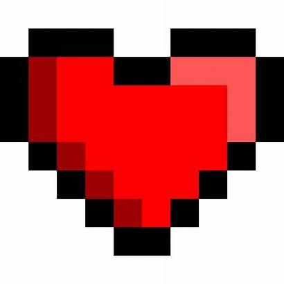 Bit Heart 8bit Clipart Svg Square Hearts