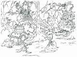 Waterfall Drawing Rainforest Coloring Outline Drawings Getdrawings sketch template