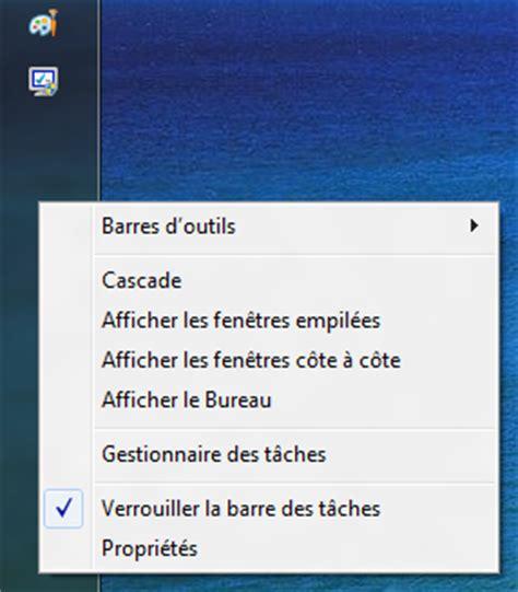 afficher bureau windows 8 comment afficher la barre des taches windows 8