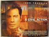 A CIVIL ACTION (1999) Original Quad Movie Poster - John ...