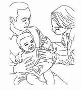 Doctor Coloring Colorear Arzt Colouring Medecin Ausmalbilder Doktor Generaliste Pediatra Medico Enfermera Dibujos Coloriage Printable Sheets Kostenlos Ausmalen Zum Julho sketch template