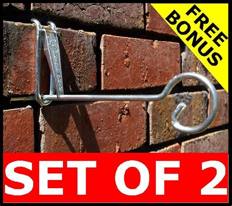 Wall Plant Hooks by New 2 Set Brick Wall Hook Metal Hooks Garden Hanger