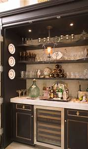 52 splendid home bar ideas to match your entertaining With bar cabinet designs for home
