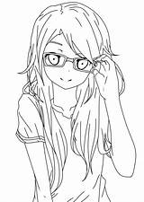 Lineart Glasses Coloring Deviantart Pages Printable Line Drawing Drawings Sheets Dragon Sketches Prints Para Ball Desenhar sketch template