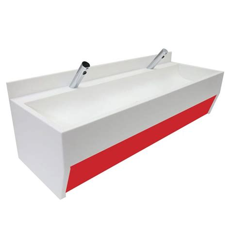 wall mounted trough sink wall mounted solid surface trough sinks for schools