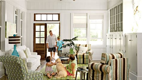 40 Beautiful Beachy Living Rooms   Coastal Living