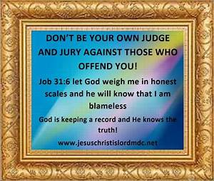 www.jesuschristislordmdc.net, - DON'T BE YOUR OWN JUDGE ...