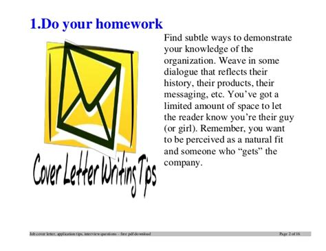 Tips For Writing Cover Letters Effectively by Top 12 Tips For Writing An Effective Firefighter Cover Letter
