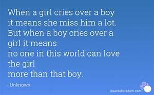 Crying Over A Boy Quotes. QuotesGram