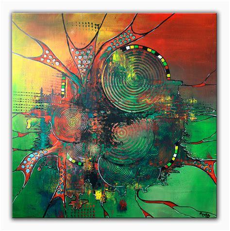 acryl auf leinwand abstrakt antrieb malerei moderne kunst gem 228 lde abstrakt