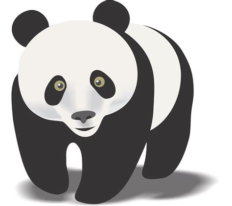 Cool Black And Red Background Panda Clipart Clipart Panda Free Clipart Images