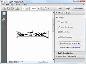 how to electronically sign documents without printing and With signature on pdf documents