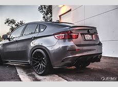We're Not Sorry 2014 BMW X6M on ADV10MV2 Wheels