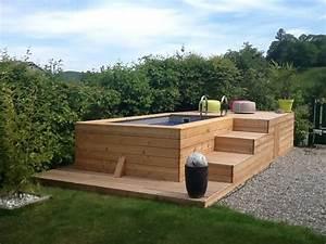 nivremcom bois meleze terrasse piscine diverses idees With terrasse bois avec piscine 1 terrasse bois piscine lame terrasse chene meleze douglas