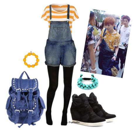 Kpop fashion Xiumin Airport (130603) Inspired Outfit [Requested...