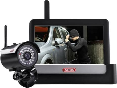 funk 220 berwachungs set 4 kanal mit 1 kamera abus tvac16000a