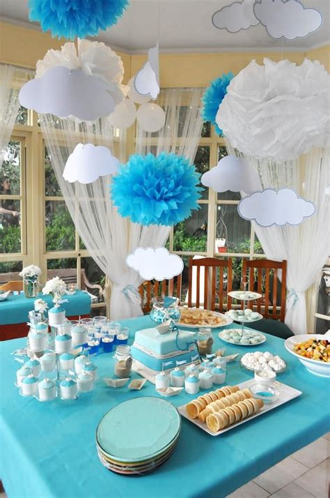 paper boat christening party planning ideas supplies idea