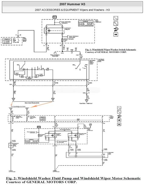 Diagram Of Fuse Box On 2007 Hummer H3 by Need 2009 H3 Wiper Switch Wiring Diagram Hummer Forums