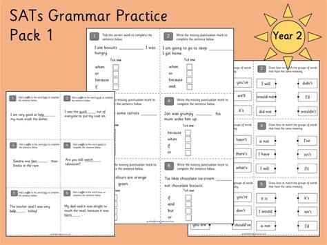 sats grammar practice year 2 by gsprimaryeducation