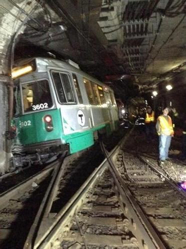 Green Line Suffered Little Noticed String Derailments