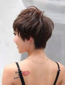Short Stacked Wedge Haircuts