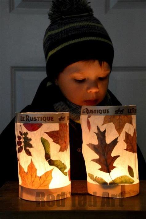 leaf lantern fun family crafts