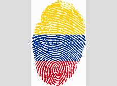 Free illustration Colombia, Flag, Fingerprint Free