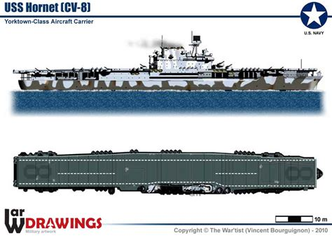 Aircraft-Carrier USS Hornet (CV-8)