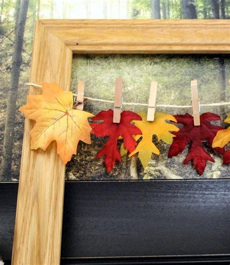 cadre photo a decorer soi meme cadre photo 224 faire soi m 234 me en quelques id 233 es de bricolage d automne