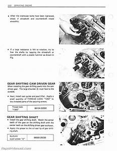 1983-1988 Suzuki Gn250 Motorcycle Service Manual
