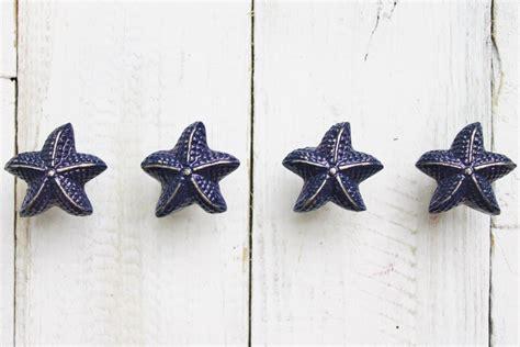 starfish knobs nautical decor cabinet knobs drawer