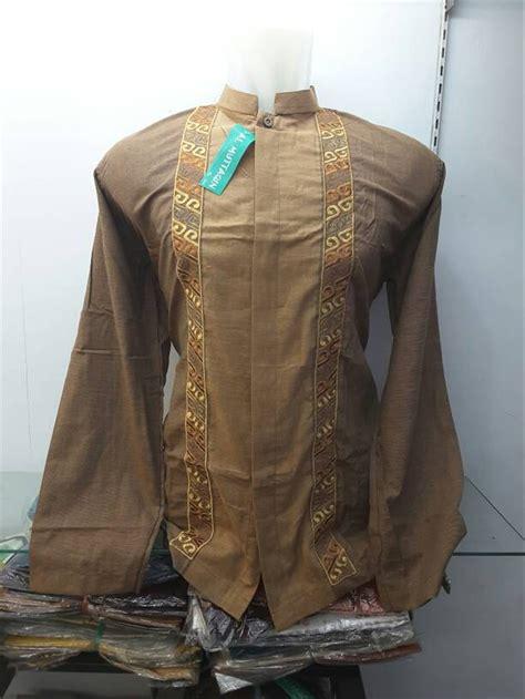 jual baju pria koko muslim lengan panjang keren di lapak ilfa shop ilfashop