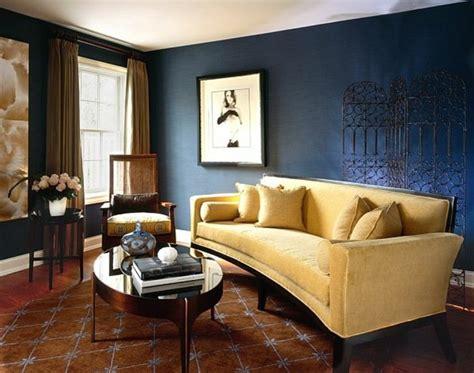 Blaue Wandfarbe Wohnzimmer by Farbgestaltung Wohnzimmer Interieurgestaltung Archzine Net