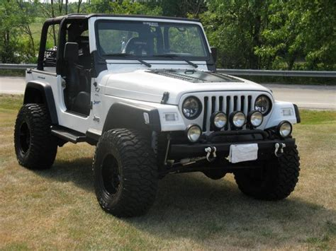 white jeep hood american bumpers custom hoods d rings exterior jeep off