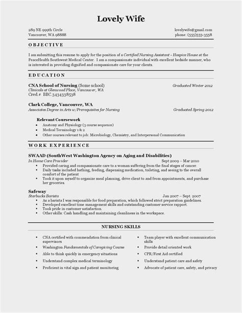 A Cna Resume by The Reason Why Everyone Resume Resume Information