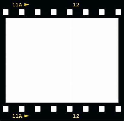 Border Film Clipart Camera Reel Borders Frame