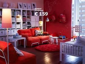 Tapis Rond Ikea : tapis rond rouge ikea photo 8 10 une ambiance de feu ~ Teatrodelosmanantiales.com Idées de Décoration